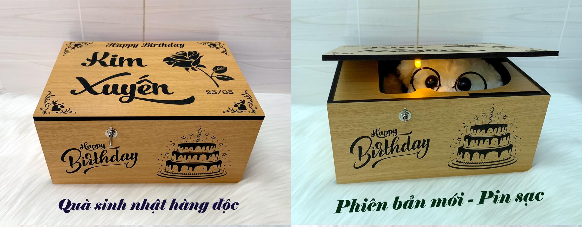 Useless Box - Tích hợp Pin Sạc