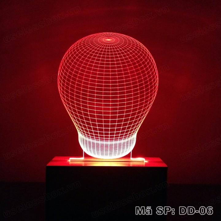 Đèn ngủ 3D hình bóng đèn Bulb