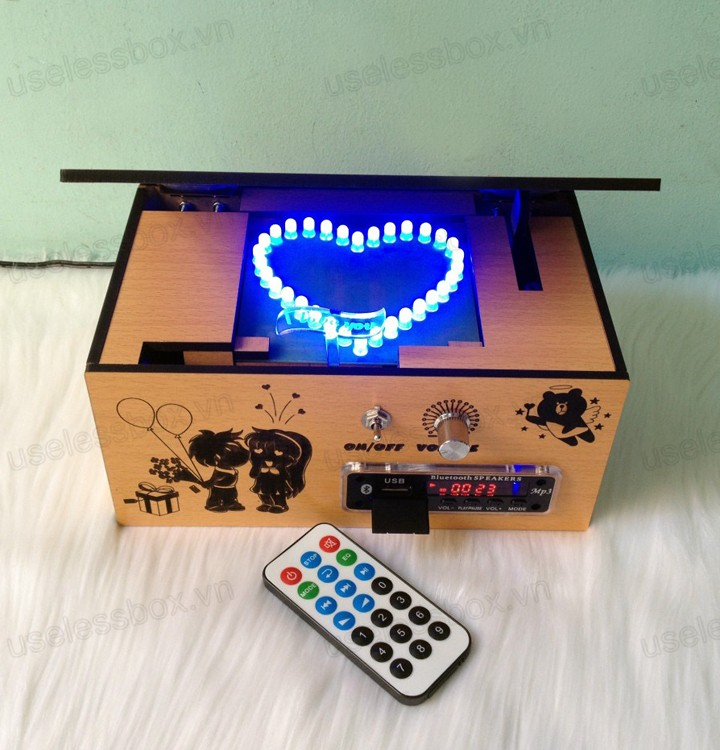 music box, loa nghe nhac mp3 bluetooth, may nghe nhac mp3, bluetooth