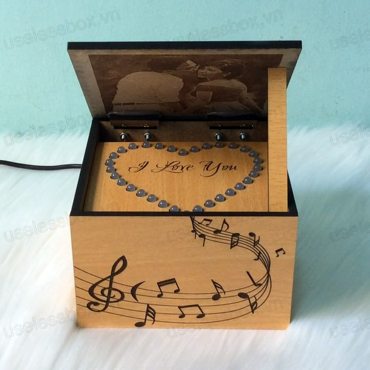 music box, hộp nhạc, hộp nhạc music box