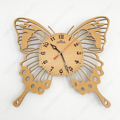 Đồng hồ treo tường nghệ thuật - Hình con Bướm