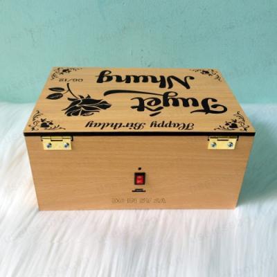 [DC IN 5V] Useless Box có thú bông, 30 mode. Khắc chữ 2 mặt